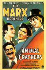 ANIMAL CRACKERS Movie Promo POSTER Marx Brothers Lillian Roth Margaret Dumont