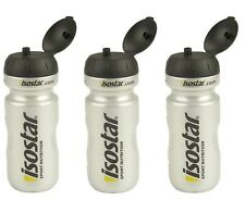 ISOSTAR Water Bottle 650ml x 3 bottle for sports water bottle with stopper !!!