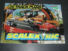 Old Scalextric Track Plans Catalogue 3rd Edition 1993