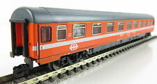 Minitrix 51 3106 00 D-Zugwagen EUROFIMA orange 1.Kl.  SBB, OVP, TOP ! (AW1247)
