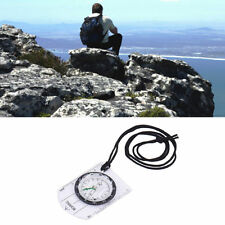 Professional Military Compass Map Scale Ruler Magnifier Outdoor Camping Hiking