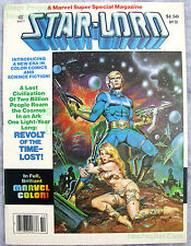 Marvel Super Special #10 Star-Lord Guardians of the Galaxy Excellent! BIG PICS!