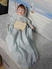 JAMEY by doll artist Barbara Peterson Comley; LE 18/100, porcelain baby boy 1984
