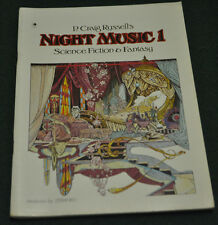 P. CRAIG RUSSELL'S NIGHT MUSIC 1 SCIENCE FICTION & FANTASY (6.5) STERANKO!