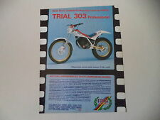 advertising Pubblicità 1987 MOTO FANTIC TRIAL 303 PROFESSIONAL