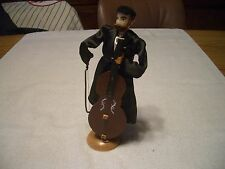 OLD ISRAELI NATIONAL DOLL #2 ORTHODOX MAN PLAYING MUSICAL INSTRUMENT, ISRAEL, LN