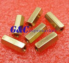10pcs M3 12 mm Hexagonal net nut Female brass Standoff/Spacer New