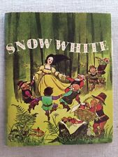 Disney's Snow White Book and Record Set (1970, Paperback)