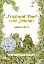 Frog and Toad Are Friends (I Can Read Book 2)-ExLibrary