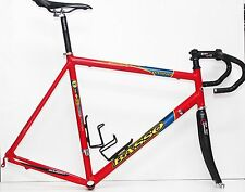 Telaio Basso Zer - handmade top class aluminum frameset, carbon fork, size 59