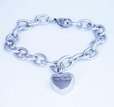 "Cremation Ashes Jewellery Keepsake Bracelet Urn ""Love Charm"""