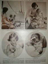 Photo article Jacqueline Kennedy Onassis with daughter Caroline Florida 1961