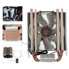 4 Caloduc Heat Pipe CPU Ventilateur Fan Pr Intel LGA1150 1151 1155 775 1156 AMD