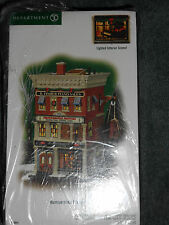 DEPT 56 CHRISTMAS IN THE CITY HAMMERSTEIN PIANO NIB *Read*