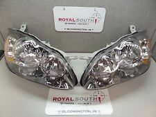 Toyota Corolla S Left & Right Front Headlight Set Genuine OEM OE