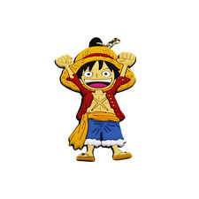 One Piece Anime Luffy Double Sided Key Chain