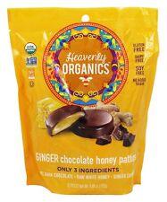 Heavenly Organics - Chocolate Honey Patties Ginger - 12 Piece(s)
