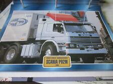 Super Trucks Frontlenker Schweden Scania P92M, 1985