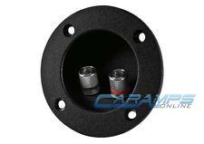 NEW HOME OR CAR SUBWOOFER SPEAKER ROUND BOX TERMINAL SPRING CUP CONNECTOR SUB