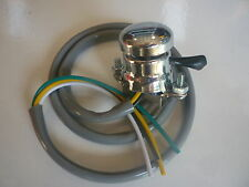 REPLICA LUCAS CHROME PUSH BUTTON HORN & KILL SWITCH, BSA NORTON, TRIUMPH LU31563