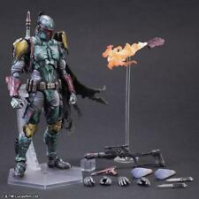 """10.6""""27cm Play Arts Kai Star Wars VARIANT Boba Fett Action Figure Toy New In box"""