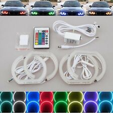 RGB color remote led SMD Angel Eye Halo Ring light For BMW E90 3's LCI 2009-2012