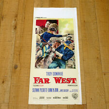 FAR WEST locandina poster  A Distant Trumpet Walsh Troy Donahue Akins Western