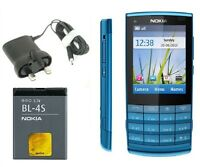 New Condition Nokia X3-02 Touch & Type Blue 3G Unlocked Bluetooth 5MP Camera