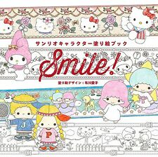 SANRIO Coloring Book for Adults HELLO KITTY MY MELODY