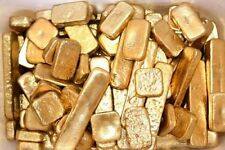 88 grams gold recovery gold bar Melted Drop Scrap plated Recovered cpu FREE SHIP