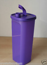 Tupperware Slim Line Pitcher Fridge Bottle Purple 2L New!!