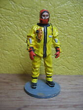 FIGURINE DEL PRADO POMPIER TENUE PLONGEUR ANTI FROID CANADA 2003  FIRE FIGHTER