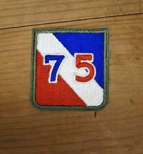 WW2 US Army 75th Infantry Division Patch (A2113)