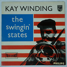 Kay/Kai Winding - The Swingin' States/Holland Philips Hi-Fi Stereo JAZZ EX