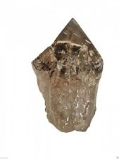 SMOKY SMOKEY QUARTZ GENERATOR CRYSTAL POINT GEMSTONE HEALING REIKI PAGAN