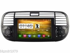 """6.2"""" Android 4.4 Car DVD Player GPS Radio  Navi for Fiat 500 2007-2015 black"""