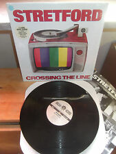 "Stretford ‎""Crossing The Line"" LP UNCLEAN USA 1995 - INSERT"