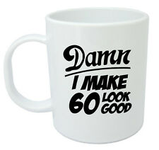 Damn 60 Mug, 60th Birthday gifts, presents, gift ideas for men, 60 year old