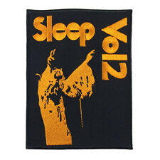 Sleep Vo12 Patch Heavy Metal Music Patch Embroidered Punk Iron On Sew On patch