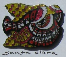 2015 SANTA CLARA  happy fish pin by kerrigan (edition of 150)  phish , dead