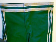 NOS Vtg 80s Rawlings Men's Baseball Pants Size Adult SZ Medium Green Beige USA