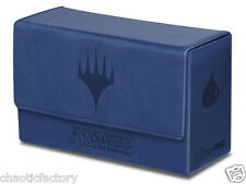 ULTRA PRO Magic: The Gathering - Mana Dual Flip Box Blue Deck Box