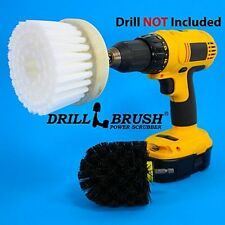 Power Scrub Brush Revolver Drill Attachment For Tires Carpets Tile Cleaning New