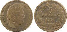Louis Philippe Ier, 5 francs, 1839 Paris, FAUX D'EPOQUE - 13