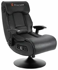 X-Rocker Elite Pro 2.1 Audio Faux Leather Gaming Chair, Size H100, W55, D91cm