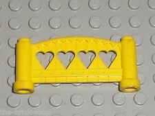 Barriere jaune Lego Fabuland  Fence Yellow ref 2040 / set 3683 3682 3676