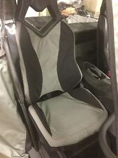 Can Am Commander UTV Seat Covers Set of 2 Black & Grey Custom Made