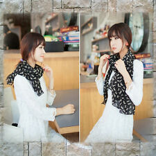 Fashion Chiffon Scarf Circle Loop- Cat Heart  Lovely Designs High Quality NEW T