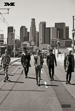 "035 Big Bang - South Korean Band BIGBANG Music Stars 14""x21"" Poster"