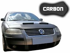 Haubenbra VW Passat 3BG CARBON Optik Tuning Hood Bonnet Automaske NEU